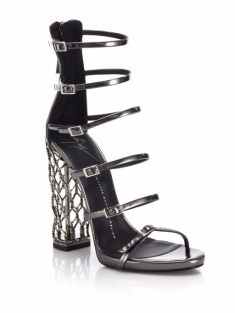 Giuseppe-Zanotti-Metal-Cage-Heel-Strappy-Leather-Sandals